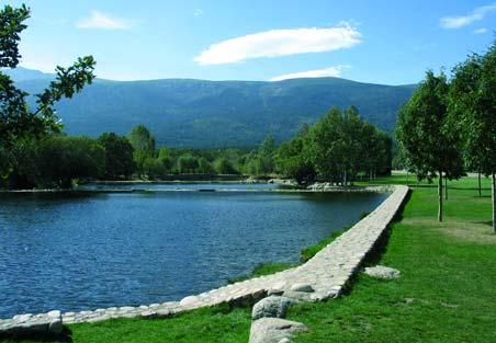 las presillas piscinas naturales de rascafria valle de el